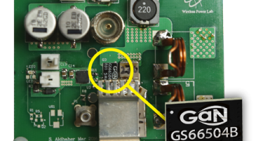 Wireless Charger with GaN Systems transistors