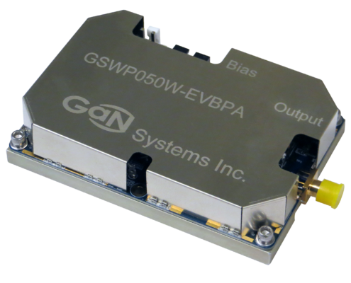 Image of a GaN Systems 50 W wireless power amplifier
