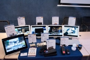 The GaN Systems demo table